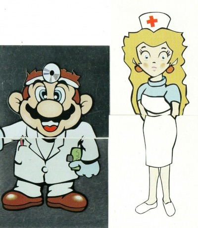 Dr Mario Sticker - Nintendo /