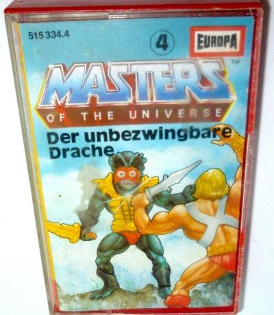 Der unbezwingbare Drache - Nr. 4 - Masters of the Universe / He-Man hörspiel - MC /Kassette