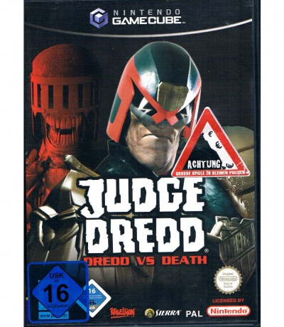 Nintendo GameCube Judge Dredd Dredd vs