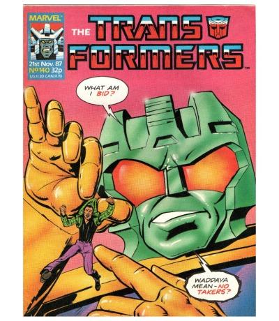 The Transformers Comic Generation G1 Nov
