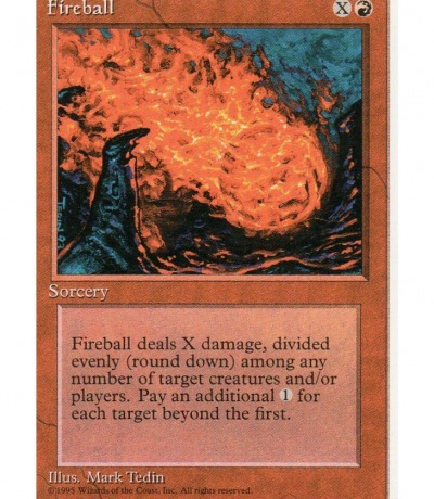 Fireball - Magic the gathering