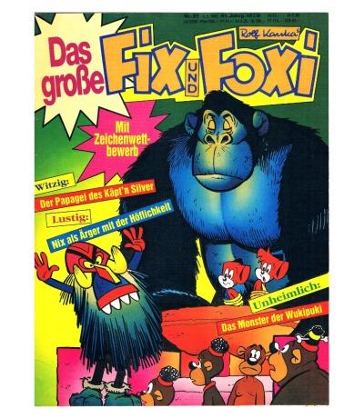Fix und Foxi Comic Nr37 41Jahrgang