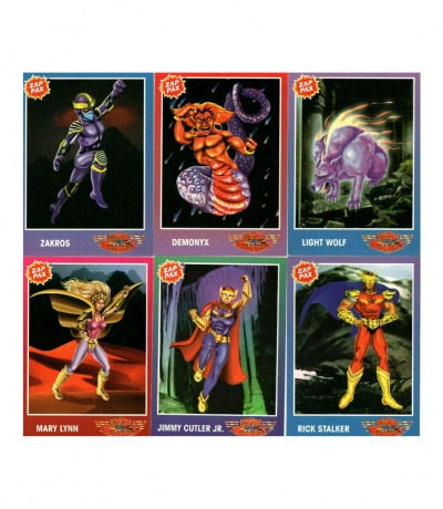 Nintendo NES Flying Warriors Trading Cards
