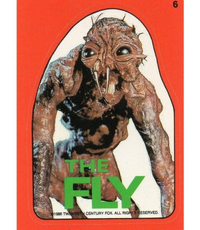 The Fly Die Fliege Sticker Topps
