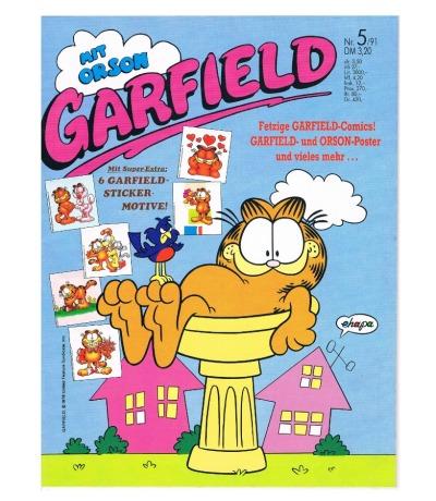 Garfield Comic - Heft Ausgabe 5/91