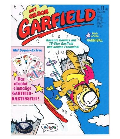Garfield Comic - Heft Ausgabe 11/91