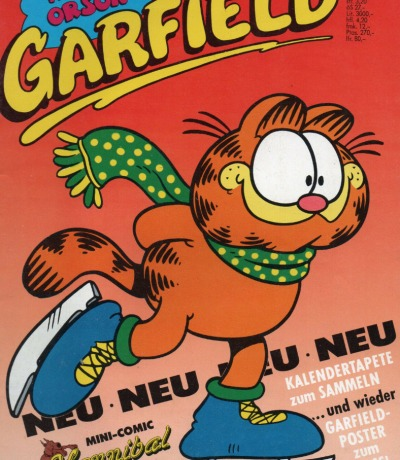 Garfield Comic - Ausgabe 1-90 1990