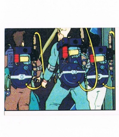 Panini Sticker Nr The Real Ghostbusters