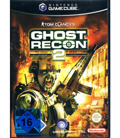 Nintendo GameCube Tom Clancys Ghost Recon