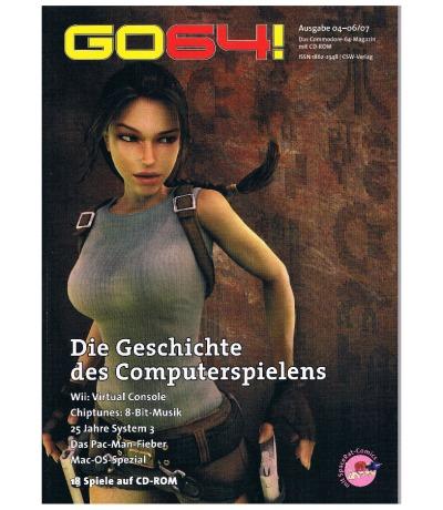Ausgabe 04-06/07 GO64 Das Commodore-64-Magazin Retro