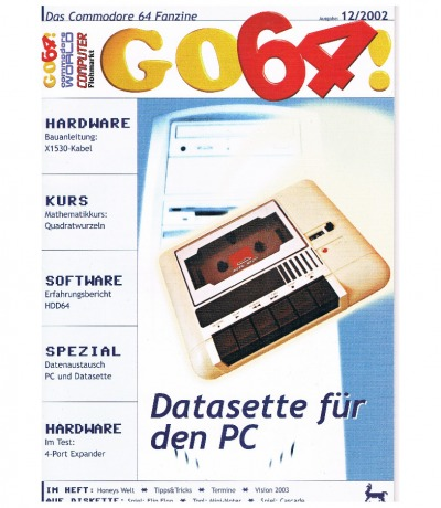 Ausgabe 12/02 - 2002 - GO64