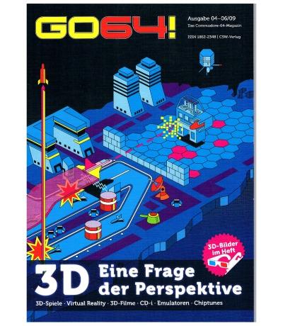 Ausgabe 04-06/09 GO64 Das Commodore-64-Magazin Retro