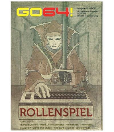 Ausgabe 10-12/08 GO64 Das Commodore-64-Magazin Retro