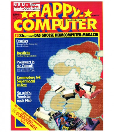 Happy Computer 12/86 Dezember Commodore Plus/4