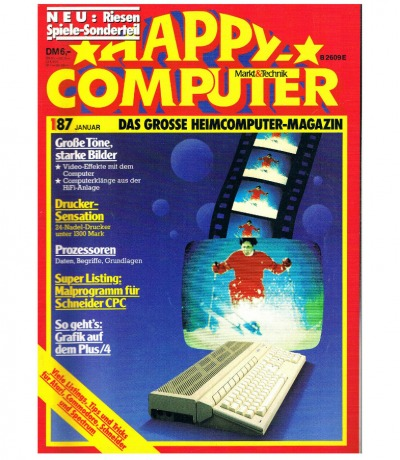 Happy Computer 1/87 November Commodore Plus/4