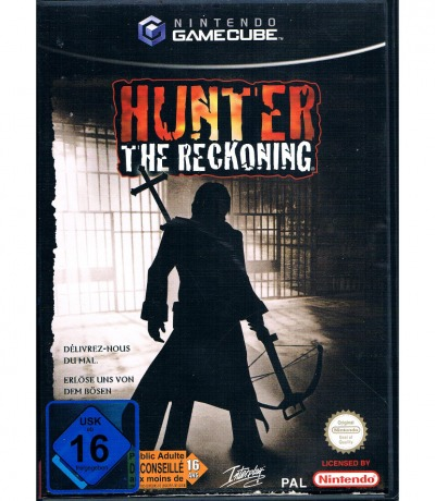Nintendo GameCube Hunter the reckoning Interplay
