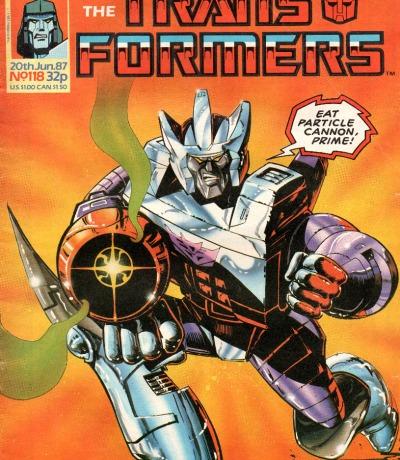 The Transformers - Comic - Generation 1 / G1 - 1987 - Jun. 87 118 - Englisch - Transformers