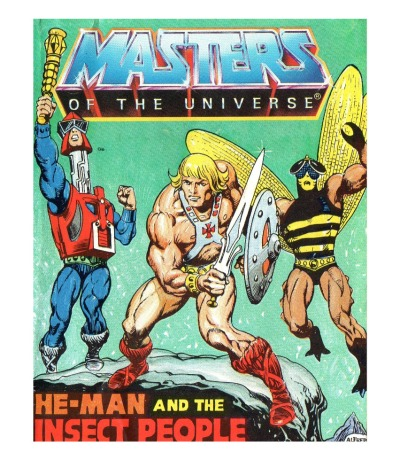 He-Man and the Insect People - Mini Comic - Masters of the Universe / He-Man