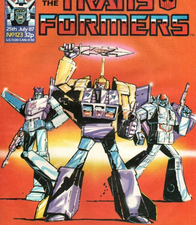 The Transformers - Comic - Generation 1 / G1 - 1987 - July 87 123 - Englisch - Transformers