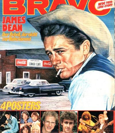 Bravo Nr.6 1982 Heft - James Dean Adam Ant Barclay James Harvest Saga