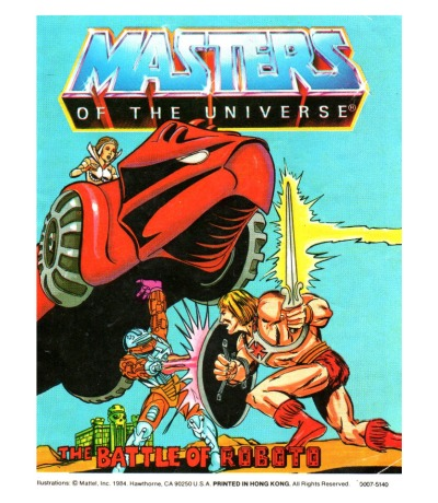 The Battle of Roboto - Mini Comic - Masters of the Universe / He-Man