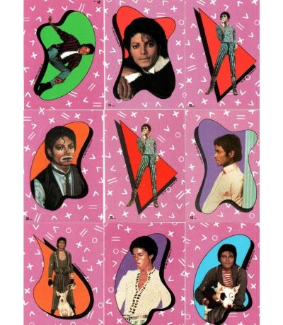 Sticker von 1984 - Michael Jackson