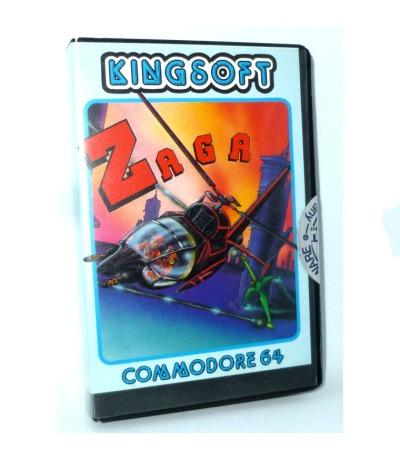 C64 - ZAGA - Kassette /