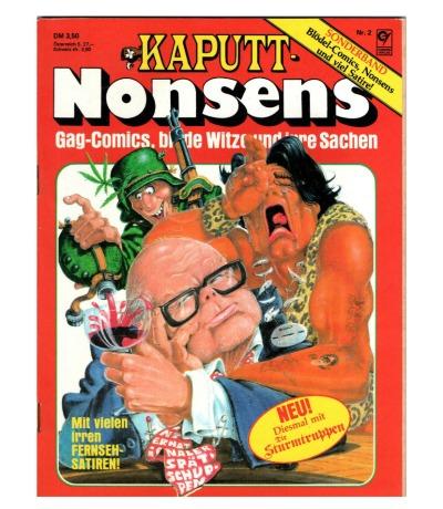 Kaputt-Nonsens Sonderband Nr2 Gag-Comicsblöde Witze und
