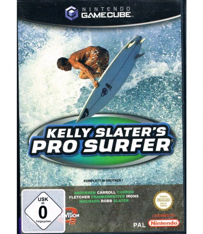 Nintendo GameCube Kelly Slaters Pro Surfer