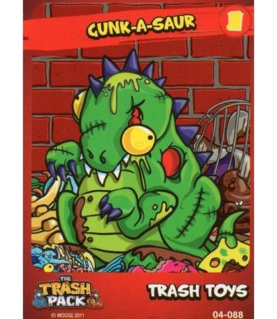 gunk-a-saur trash toys The Trash Pack