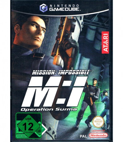 Mission: Impossible M:I Operation Surma Nintendo
