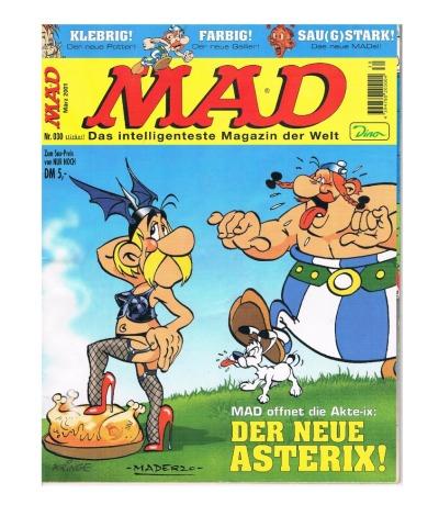 MAD Nr März Der neue Asterix