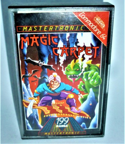 Magic Carpet - Kassette - C64 / Commodore 64