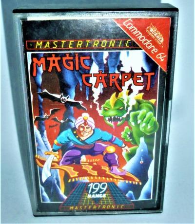 Magic Carpet - Kassette - C64 / Commodore 64