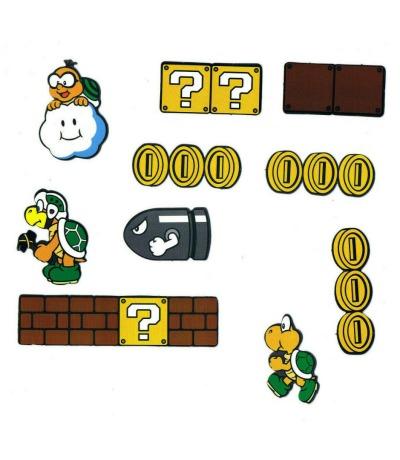 Super Mario Bros Magnete Münzen Laktui