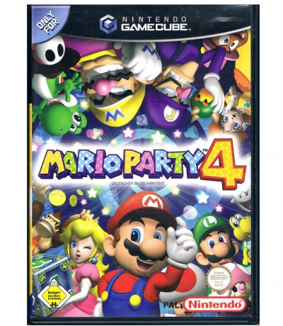 Nintendo GameCube - Mario Party 4