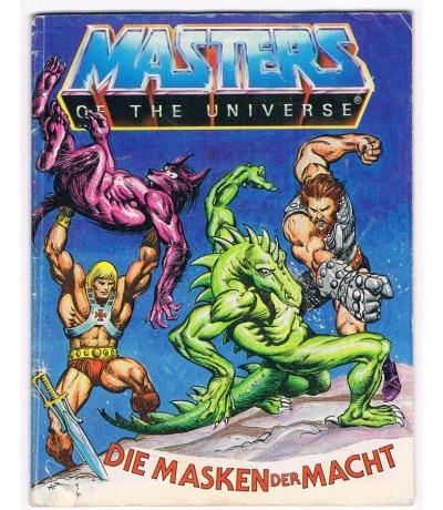 Die Masken der Macht Mini Comic