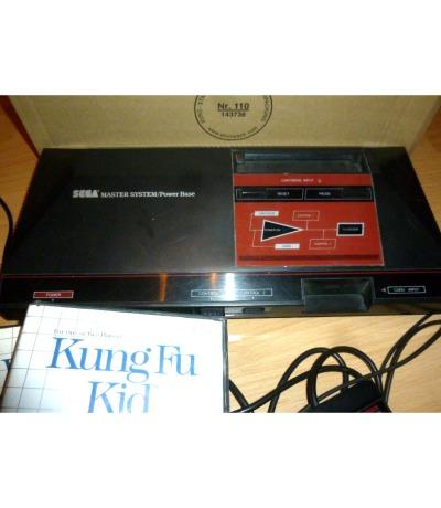 Sega Master System Mit Stromadapter Antennenkabel