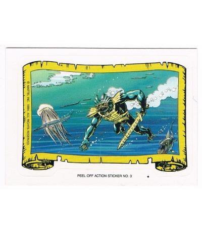 Mer-Man Sticker von Topps Masters of