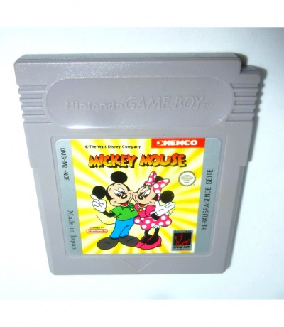 Mickey Mouse - Nintendo Game Boy