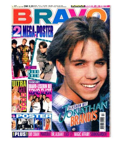 Bravo Nr17 Heft Komplett Jugend-Magazin Heft