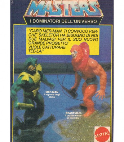 Masters of the Universe Mer-Man und