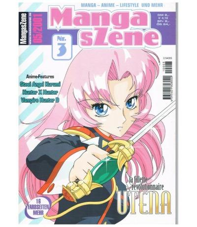 Manga sZene Magazin Nr3 Anime Manga