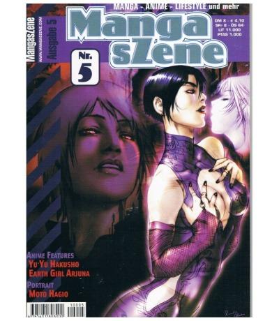 Manga sZene Magazin Nr5 Anime Manga