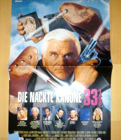 Die nackte Kanone 1/3 Poster 90er