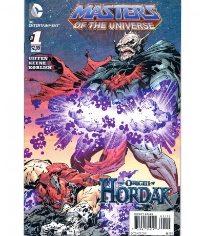 Comic The origin of Hordak Masters