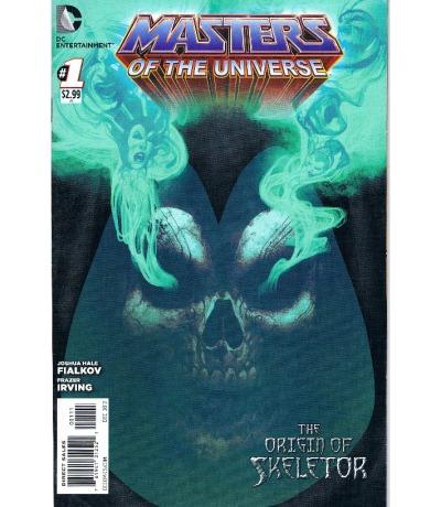 Comic The origin of Skeletor Masters