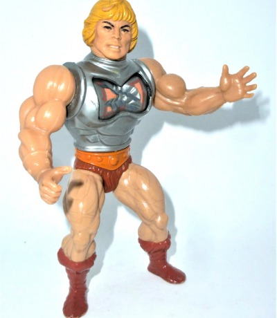 Battle Armor He-Man - Masters of the Universe / He-Man Actionfigur - Vintage Figur von Mattel aus den 80ern.