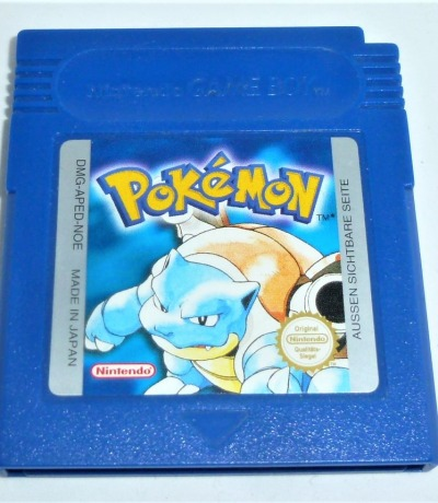 Pokemon blue blau Nintendo Game Boy