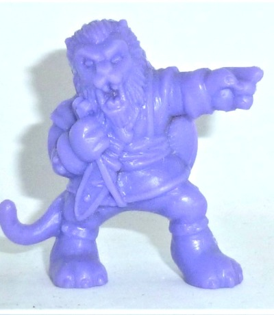 The Beast - Figur lila - Monster in my Pocket - Serie 1 - 1990 Matchbox